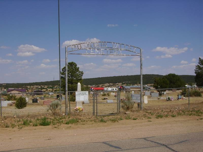Mountain Valley Cemetery, Santa Fe County, New Mexico
