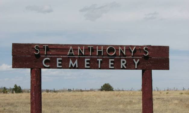 Saint Anthony (New) Cemetery, Pecos, San Miguel County, New Mexico