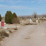 Old Section of the San Miguel Catholic Cemetery, Socorro, Socorro County, New Mexico