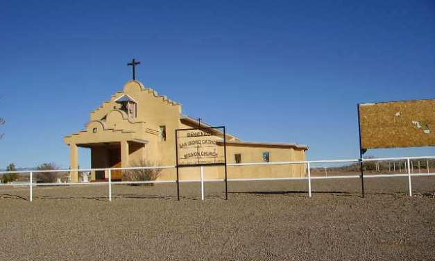 San Ysidro Catholic Mission Church, Las Nutrias, Socorro County, New Mexico