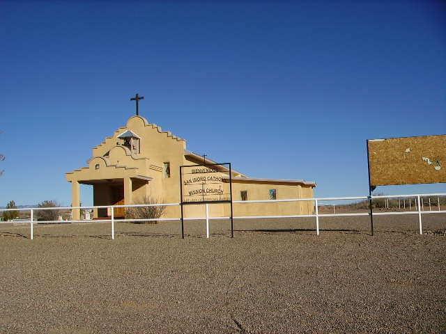 San Ysidro Catholic Mission Church, Las Nutrias, Socorro County, New Mexico