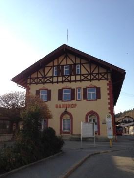 Tegernsee Train Station