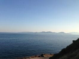 Elba, just off the coast