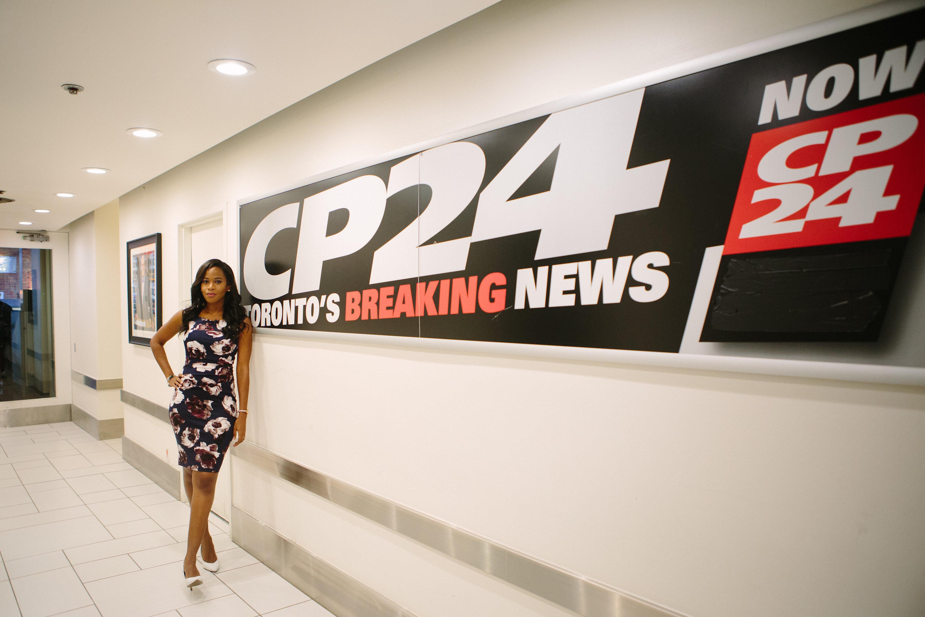 Inside My Last Day At CP24 News - nnekaelliott ...