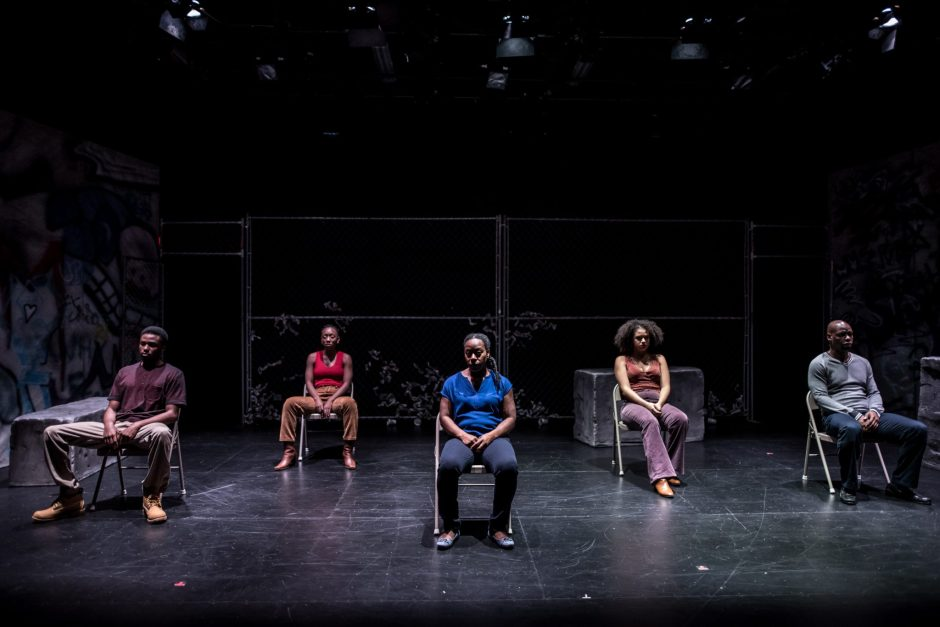 OSOTG - Ryan Rosery, Virgilia Griffith, Ordena Stephens-Thompson, Shakura Dickson, Peter Bailey - photo by Dahlia Katz