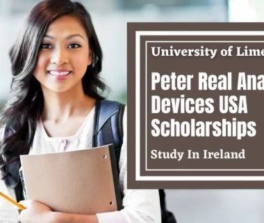 Peter Real Analog Devices USA Scholarships in Ireland