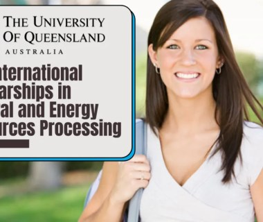 PhD International Awards in Mineral and Energy Resources Processing