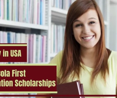 Coca-Cola First Generation Scholarships in USA