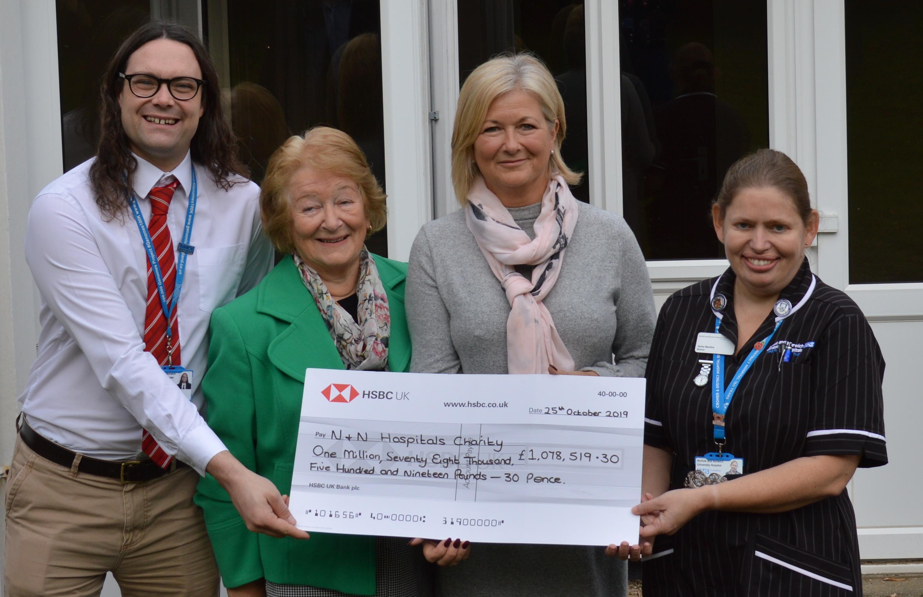 Cromer Hospital receives £1m legacy