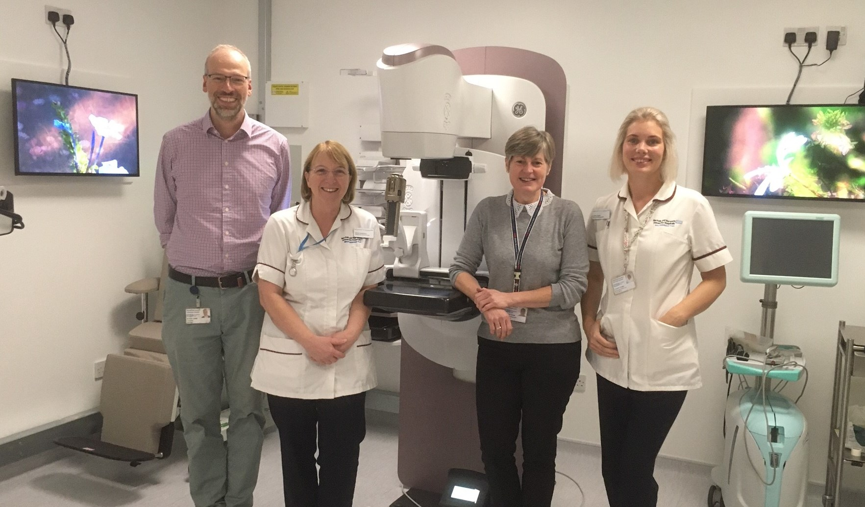 New biopsy machine installed as part of Boudicca Appeal