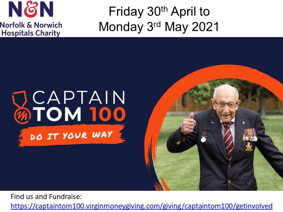 Do #100 for Captain Sir Tom