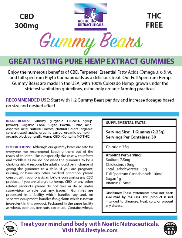 Gummy Bears 300mg