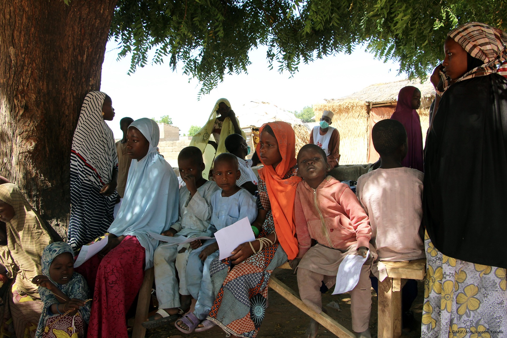 Despite security challenges, MSF take the risk to treat underserved children in Borno State