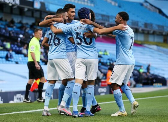 Manchester City maintained 10-point lead in Premier League