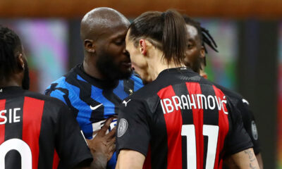 Ibrahimovic and Lukaku meet again as Milan rivals battle for top spot in Serie A