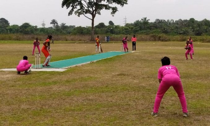 Maiden Female Cricket League to end with Super-Four in Benin