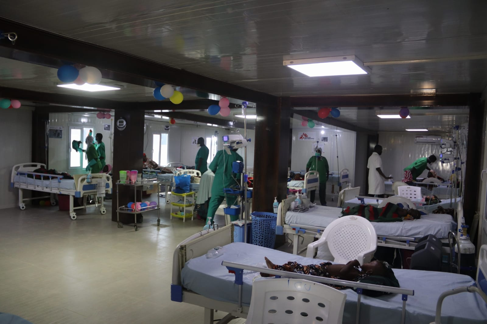MSF opens new center to cater for malnourished children in Maiduguri