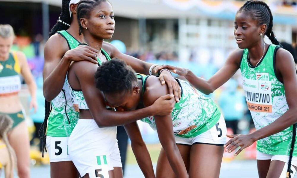 Building for the future - Can Nigeria do more to support young athletes?