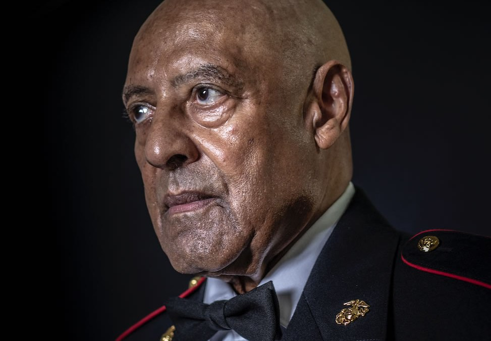 Marine Sgt. Maj. John Canley Receives Medal of Honor in White House Ceremony