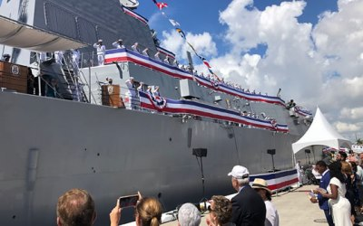 Commissioning of USS Paul Ignatius