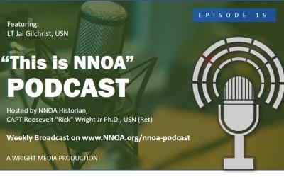 Podcast Episode 15: LT Jai Gilchrist, USN