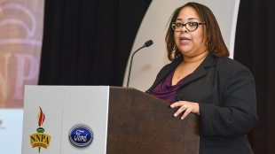 """Renah Carlisle, a sales zone manager for Ford's Phoenix Region said that both Ford and the NNPA support STEAM initiatives and """"it is a reminder to our children, that the impossible is possible."""" Ford officials made the announcement about the new STEAM column, during the 2018 NNPA Mid-Winter Conference in Las Vegas."""