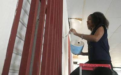 Howard Students Help to Rebuild in Puerto Rico