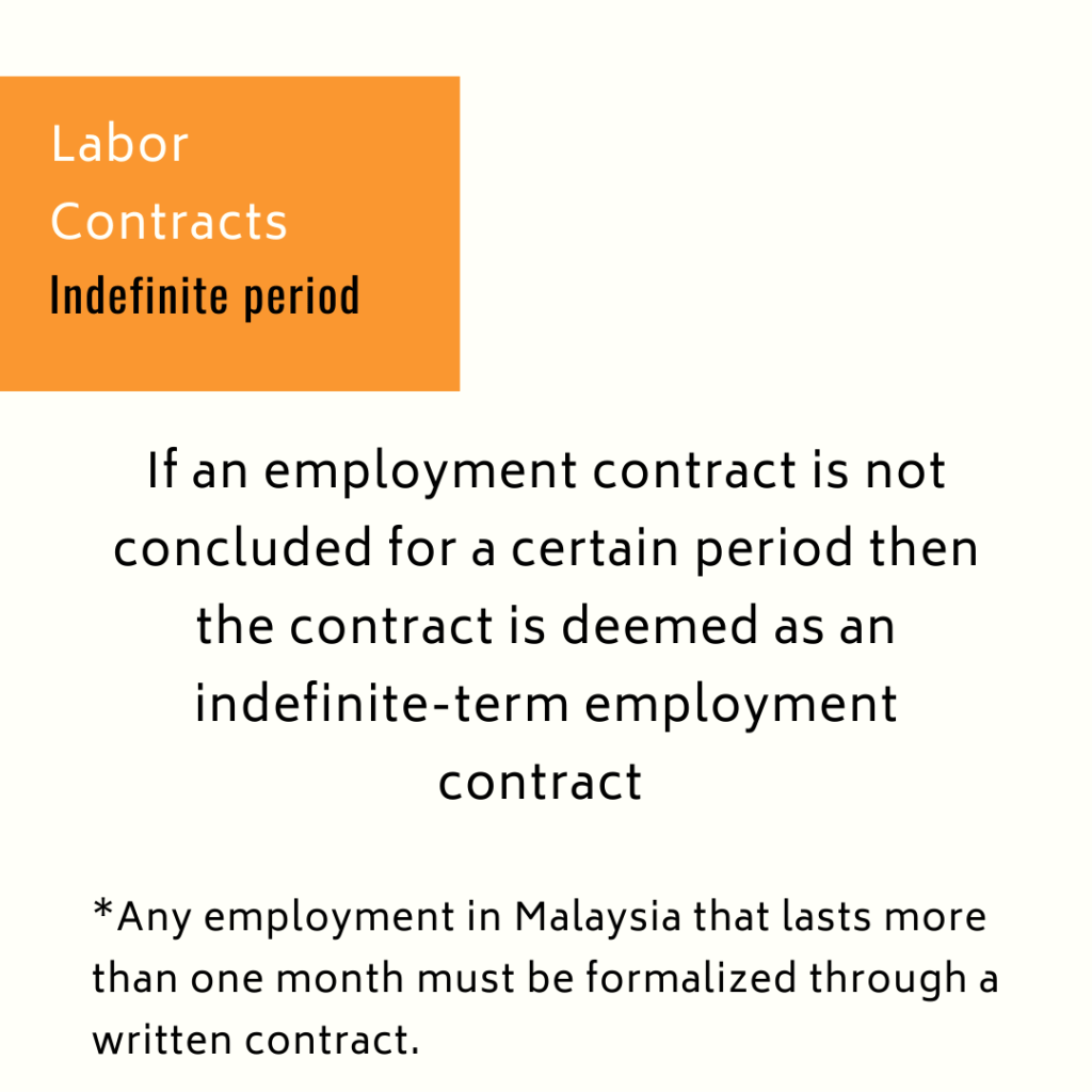 malaysia indefinite contract