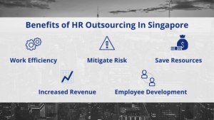benefits of HR outsourcing in Singapore infograph