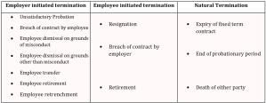 singapore termination policies
