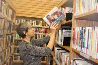Christine Gyapay is the head librarian at NWT Centennial Library in Hay River. Paul Bickford/NNSL photo