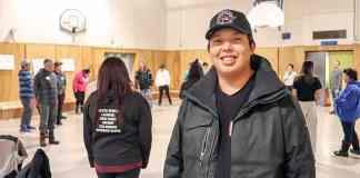 Adam Nadli attended the Aboriginal Communities: Active for Life workshop last weekend held by the Aboriginal Sport Circle of the NWT. Dylan Short/NNSL photo