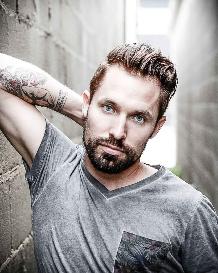 Garrett Gregory, a country performer from Alberta, will be the headliner at this year's Hay Days Festival in July. Photo courtesy of the Sakamoto Agency
