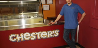 Dwayne Buhler opened a Chester's outlet in Hay River on March 18, and the chicken-to-go small business has been unable to keep up with the overwhelming demand for its food. Paul Bickford/NNSL photo