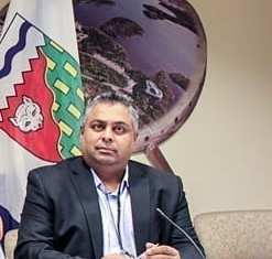 Today Premier Bob McLeod announced the appointment of Sandy Kalgutkar as Associate Deputy Minister of Infrastructure. NNSL file photo