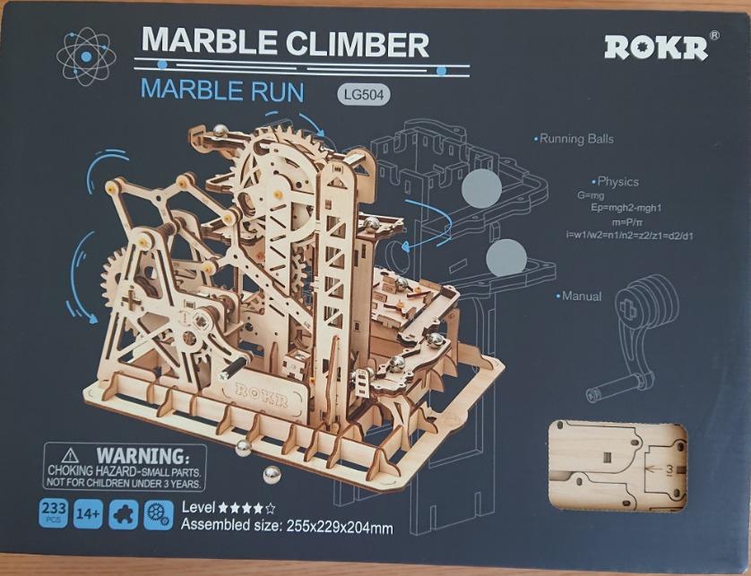 マーブルコースター「ROKR」の箱の参考画像