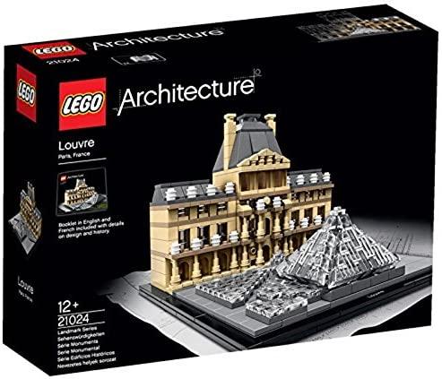 LEGO(レゴ)アーキテクチャーシリーズ「 ルーブル美術館」の参考画像