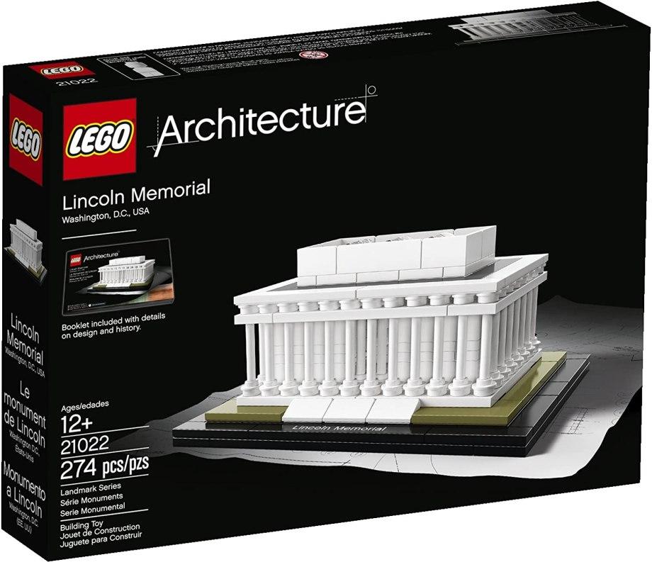 LEGO(レゴ)アーキテクチャーシリーズ「リンカーン記念館」の参考画像