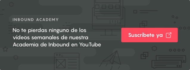 Click and subscribe to our Inbound Academy on YouTube