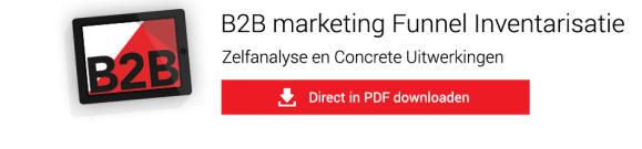 B2B Marketing funnel inventarisatie