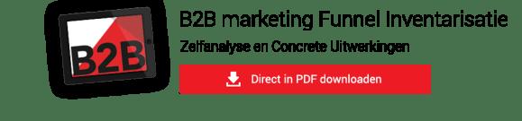 B2B Marketing funnel inventarisatie