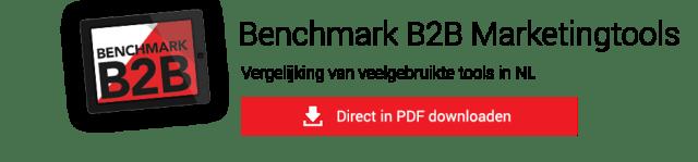Benchmark b2b marketing tools