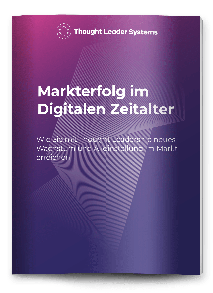 thought leadership strategie Markterfolg Thought Leadership eBook Cover digital