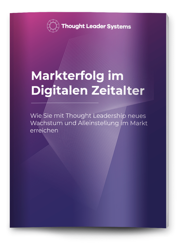 thought leader Markterfolg Thought Leadership eBook Cover digital
