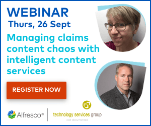 Managing claims content chaos