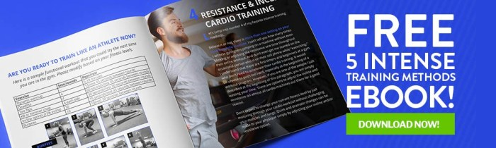 5 Intense Training Methods Ebook