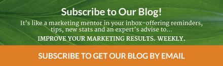 A marketing mentor in your inbox, subscribe to our blog