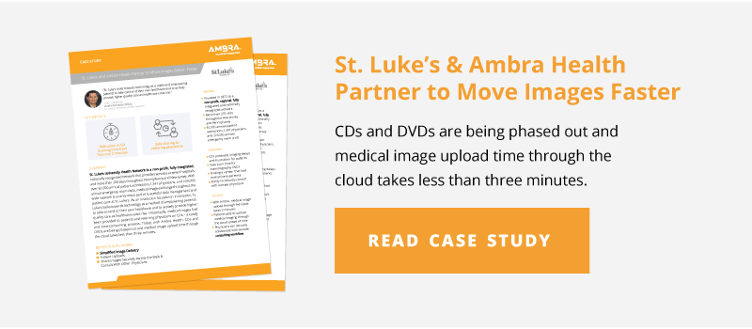 St. Luke's & Ambra Health Partner to Move Images Faster