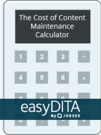 The Cost of Content Maintenance Calculator Button