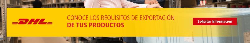 Conoce los requisitos de exportación de tus productos